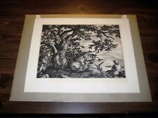Sam Thal Signed Limited Edition Original Etching Loblolly Cove