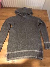 TU Grey Hooded Jumper Size 8