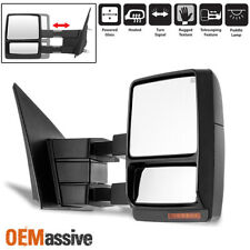 Fit 2004-2006 Ford F150 Passenger Side Extendable LED Signal Power Towing Mirror