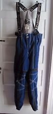 Vintage Phenix Sports Bib Overalls Insulated Winter Snow Ski Board Pants Mens M