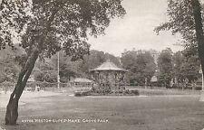 POSTCARD  SOMERSET  WESTON SUPER MARE  Grove park