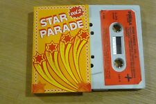 Cassette K7 Tape Various   Star Parade Vol 2 Italy Fonola C 845