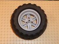LEGO - Wheel 56mm D. x 34mm Technic Racing , LIGHT BLUISH GREY x1 (44772c02) TW9