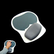 Fellows Gliding Mouse Pad With Moving Wrist Rest Gel Cushion Pad Wrist Comfort