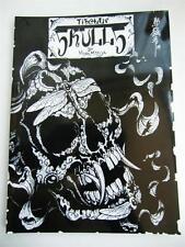 "Tibetan Skulls Japan Horimouja Japanese style Skull tattoo Flash Book 11"""