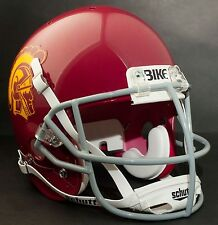 "USC TROJANS Football Helmet FRONT TEAM NAMEPLATE Decal/Sticker ""BIKE"""