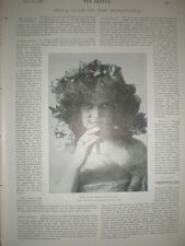 Photo article Violet Dale from Toledo Ohio at Tivoli Music Hall London 1901
