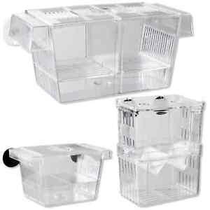 Happet Aquarium Ablaichkasten, Aufzuchtbecken Aufzuchtbehälter Laichbehälter