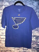 ST LOUIS BLUES TSHIRT JERSEY BRAND NHL Size Adult Large #21 Patrick Berglund🔥🏒