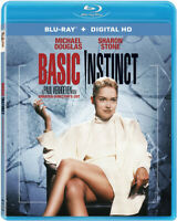 Basic Instinct (Directors Cut, Unrated) BLU-RAY NEW