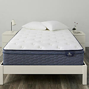 SERTA KING MATTRESS. SLEEPTRUE COLLECTION. ALVERSON EURO TOP FIRM 13¨