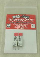 40Mhz Futaba Single Conversion FM TX/RX Crystal Set UK CH88/Euro CH86 40.885Mhz
