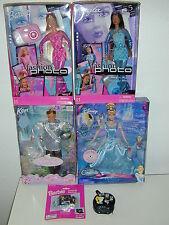 Barbie Doll Lot 4 New Dolls Disney Princess Cinderella Ken Swan Lake Fashion