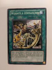 Weights And Zenmaisures ORCS- EN055 1st Edition Yu-Gi-Oh Card VLP