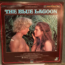 THE BLUE LAGOON Laser Disc - Brooke Shields - EX Condition