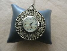 Vintage Swiss Made Mechanical Wind Up Roxhall Necklace Pendant Watch
