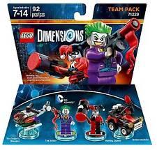 LEGO Dimensions The Joker Harley Quinn Team Pack 71229 chopper DC New In Box