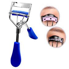 Eyelash Curler With Comb Tweezers Curling Eyelash Clip Cosmetic Eye Beauty HOT