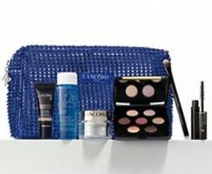 NEW Lancôme Lot of 7 Piece Makeup Set Mascara Cream Brush Palette SEALED