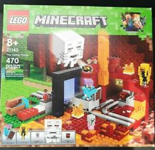 New ListingLego Minecraft The Nether Portal 2018 (21143) Factory Sealed 470 Pieces