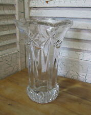 Fostoria 24 % Lead Crystal Flared Vase Made in Germany