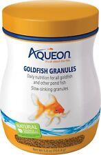 Brand New Aqueon Goldfish Granules 5.8 oz - Set Of 9 Bottles