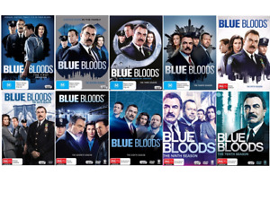 BLUE BLOODS The Complete Series Season 1-10 : NEW DVD