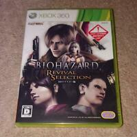 XBOX 360 BIOHAZARD Resident Evil Revival Selection Capcom Japan Import