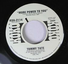 Soul 45 Tommy Tate - More Power To You / More Power To You On Koko