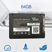 "64GB 2.5"" MLC SSD SATA 3 SATA III High Speed Internal Solid State Drive For PC"