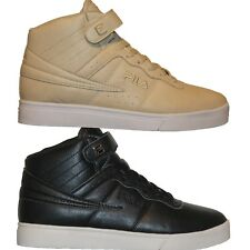 Mens FILA VULC 13 MP Mid Plus DISTRESS Retro Basketball Shoes Sneakers