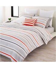 Lacoste Bastia Fiesta Striped 200 Tc Cotton Full/Queen Comforter $300 New