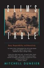 Slim's Table: Race, Respectability, and Masculinity: By Duneier, Mitchell