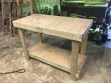£55 !!! 4ft STURDY PLYWOOD TOP WORKBENCH - £55 !!! FREE DELIVERY!!