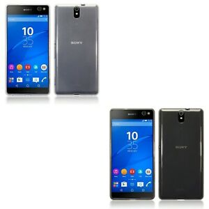 Silicone Slim TPU Gel Back Protector Case Cover For Sony Xperia C5 Ultra