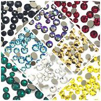 144 Mixed Sizes Swarovski 2088 Crystal Flatback 3mm 4mm 5mm nail art *Pick Color