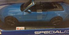 1/18 Maisto Mustang GT Convertible (Blue)