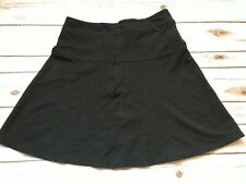 Athleta Size 8 Stretch Black Short Skirt Zipper Mini Women's