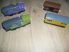 Splatter & Dodge with Carriage Trackmaster Tomy, Thomas and Friends Tank Engine