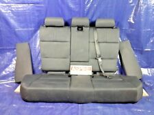 2006-2010 Bmw X3 E83 Rear Black Leather Back Seat With Rear Cup Holder OEM