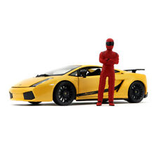 SUPER FANS 1:18 Top Gear The Stig Figure (RED)  (without car)