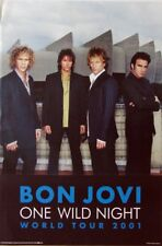 BON JOVI - Plakat - One Wild Night - Poster - A