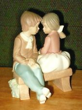 DAISA BY LLADRO FIRST KISS  1991   EXCELLENT CONDITION