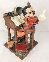 Disney WDCC 4009062 Christmas Carol Mickey Mouse Earnest Employee w/ COA & Box