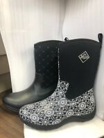 NEW Muck Boot Arctic Weekend Women's Casual Boot Pick Size - Black Quilt / Swirl