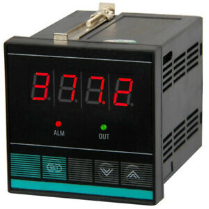 PID ON/OFF Temperature Controller thermocouples Pt100 with 4-20mA, 2x OUT Relay