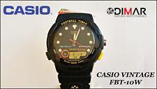 Vintage Casio FBT-10W, Football Timer QW.722, Japan WR.100m. Year 1993