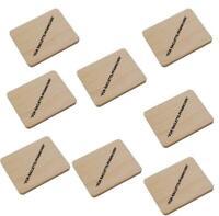 Raclettebrettchen Buche Brettchen L 10 cm mit Aufdruck Raclette 4,6,8,10 oder 12