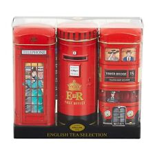 British Icons Tea Selection Triple Tin Gift Pack 42 Teabags