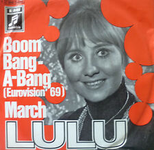 "7"" Grand Prix 1969 (UK) VG + +! LULU: BOOM BANG A BANG"